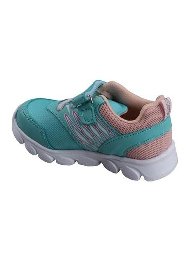 Cool 20-S12 Su Yeşil Kız Çocuk Bebe Günlük Spor Ayakkabı Yeşil
